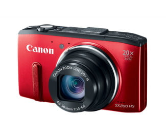 Canon's PowerShot SX280 HS is one such digital camera with built-in GPS you can use to geotag your photos.