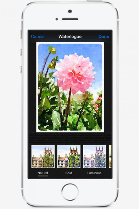 apple ios  photos app features capture filters thirdparty