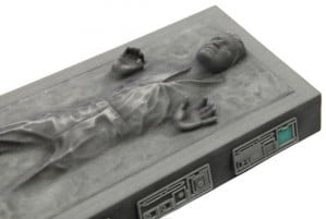 Han Solo Disney Carbonite Figurine close up