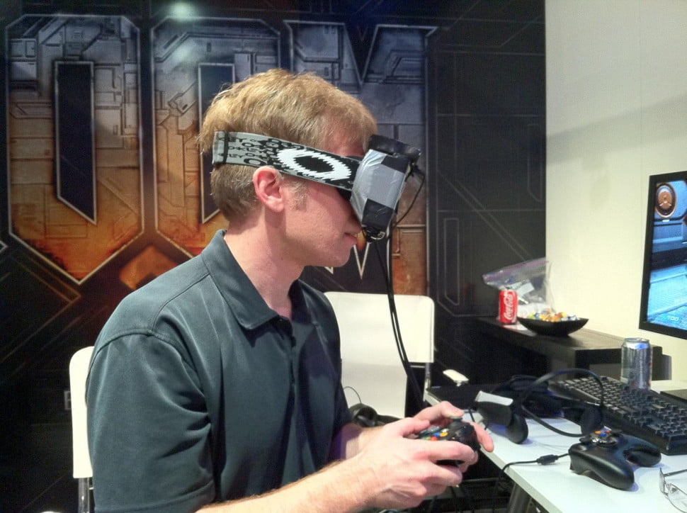 Carmack with Oc VR
