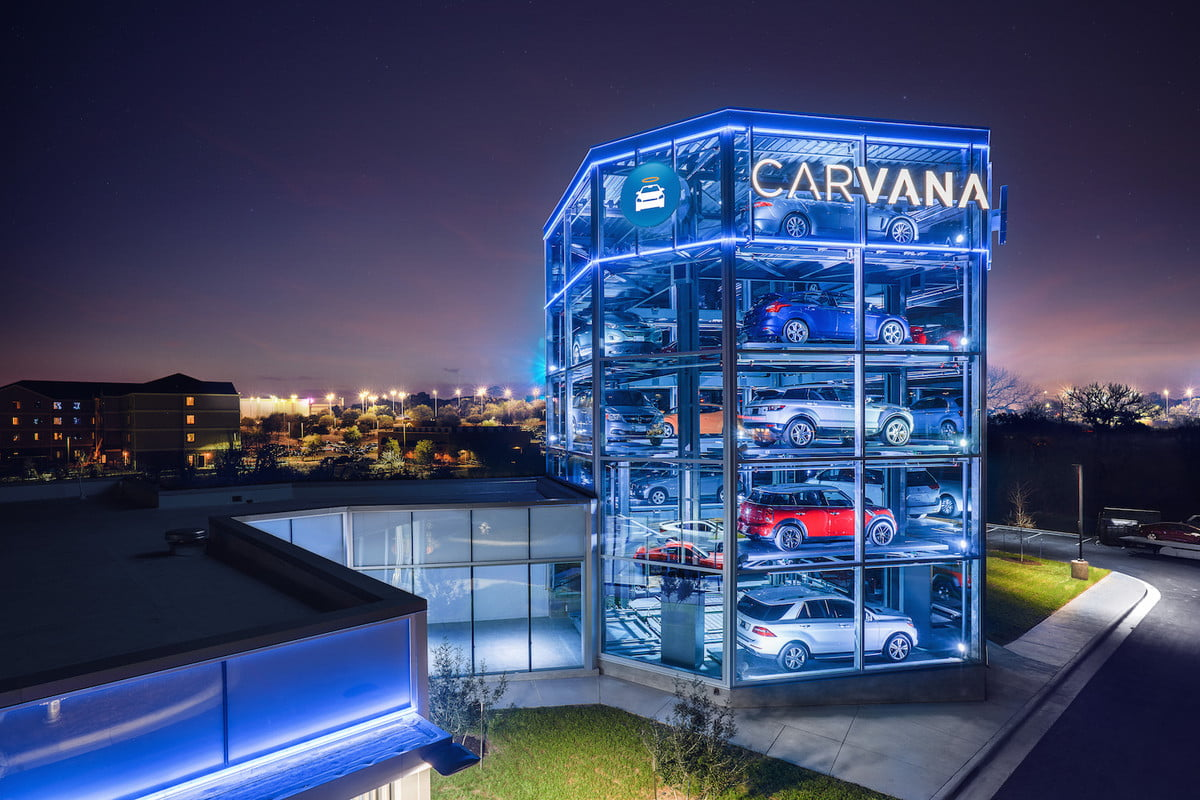carvana launches automated car vending machine in texas austin