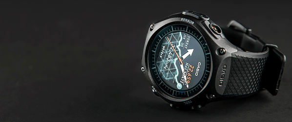 Casio takes Android Wear to the great outdoors, but it's not a happy camper