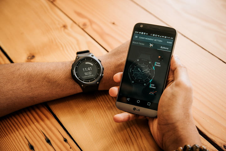 casio wsd f  review activity