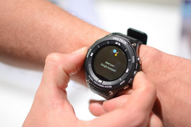 android wear  casio wsd f
