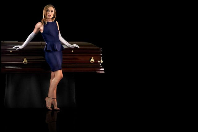 you can get a coffin to play your funeral songs via spotify casket