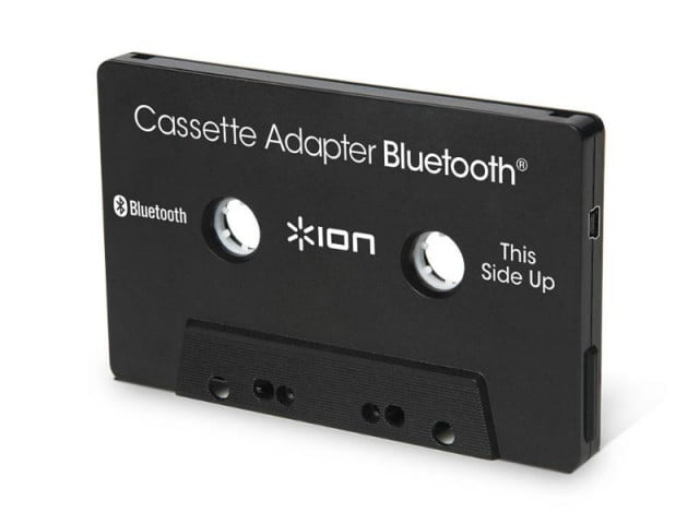 ions new bluetooth cassette adapter gives life old stereos cassetteadapterbluetooth web