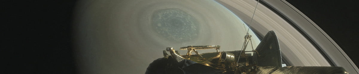 NASA's Cassini probe begins its suicide dive through Saturn's rings today