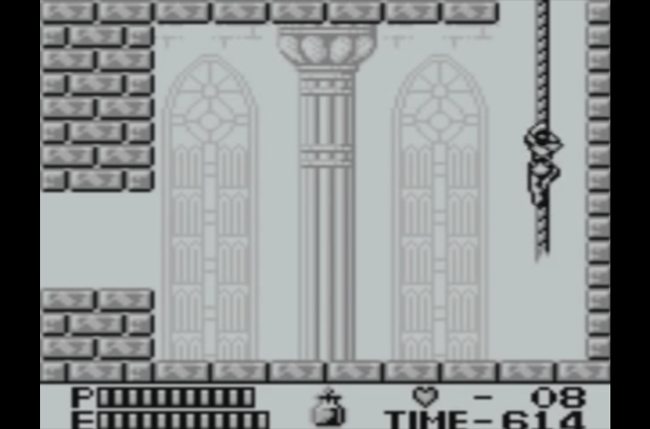 best game boy games castle screen