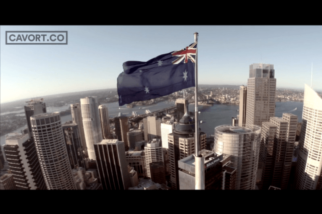 video series takes us drones eye view tour major cities world cavort spy sydney screenshot
