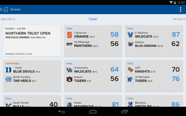 CBS_Sports_Android_tablet_app_screenshot