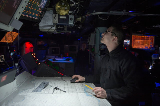 us navy training celestial navigation avoid gps officers are in so they won t have to rely on technology