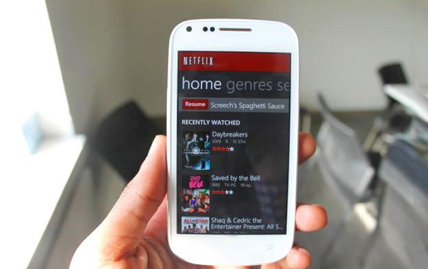 smartphone plans netflix streaming