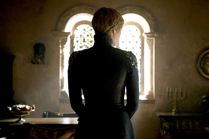 cersei in her villain dress