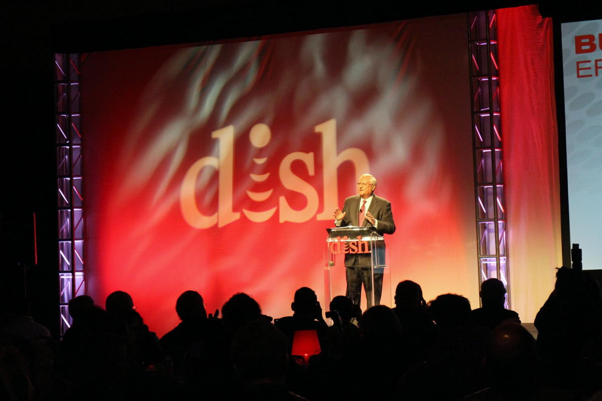 dish sling tv hopper update new remote  k set top box ces press conference