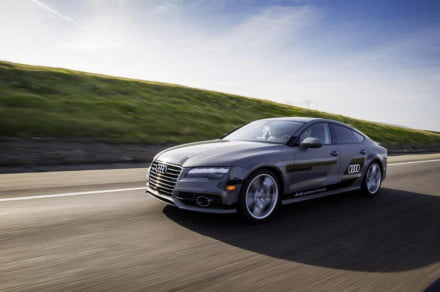 Self-driving Audi A7 prototype