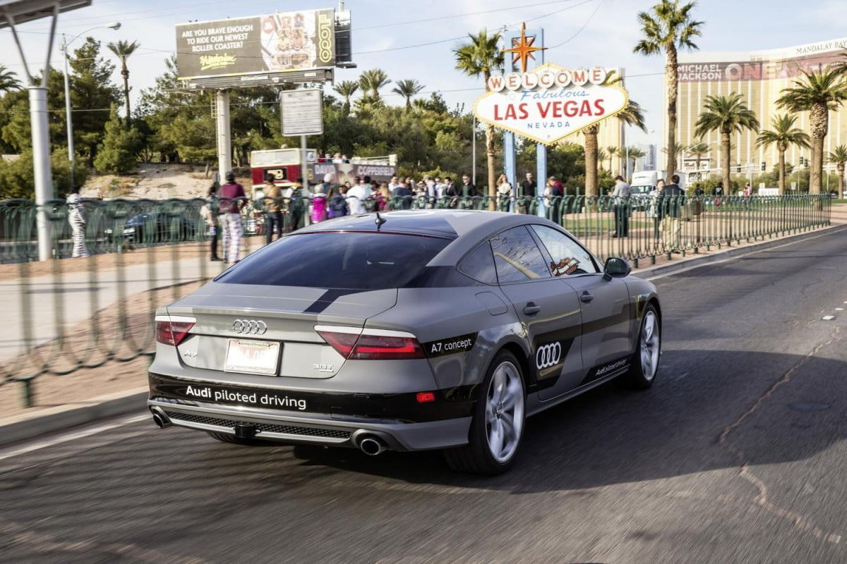 smart watches self driving tech cars transform at ces audi a  prototype