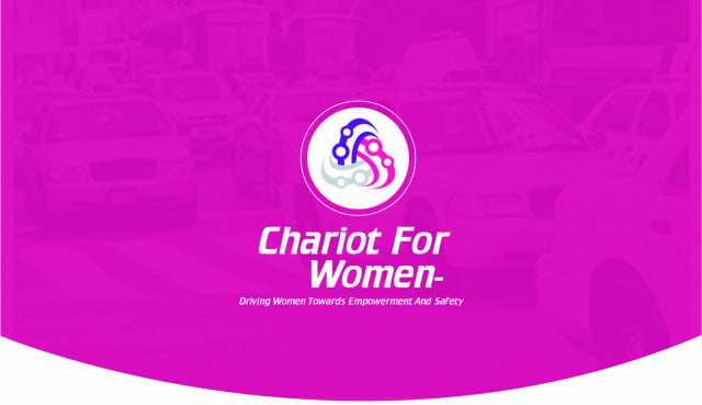 chariot for women ridesharing app cfw