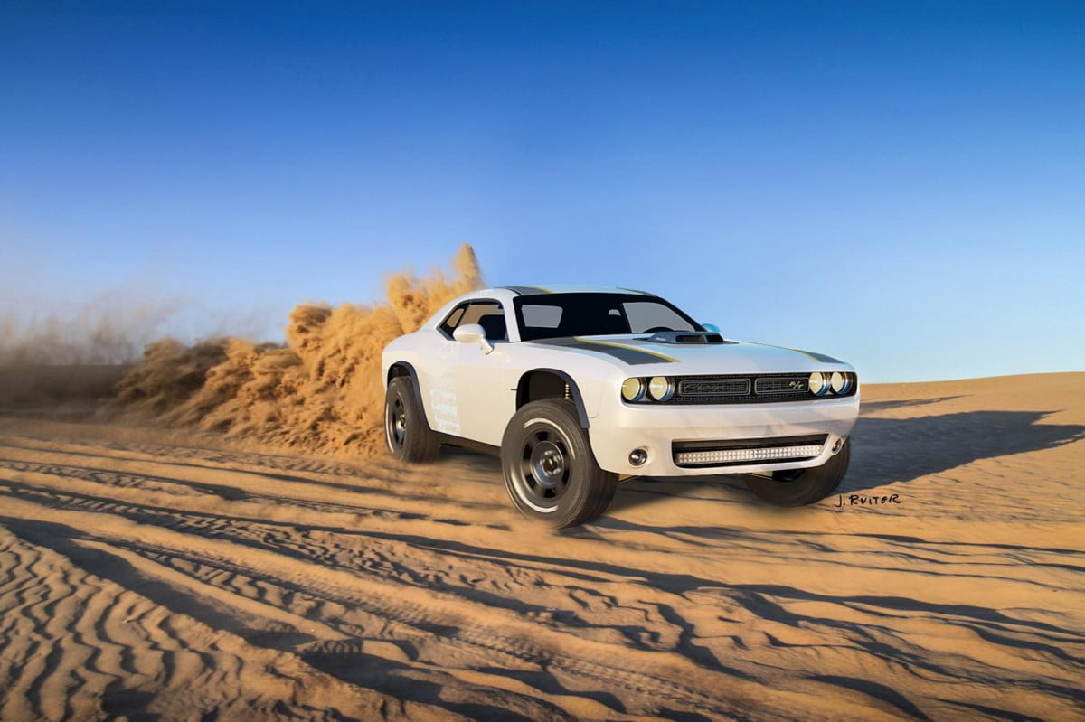 dodge challenger untamed concept will leave hellcat dust literally a t