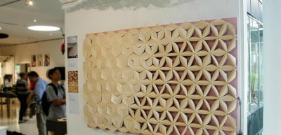 Chao Chen Pinecone Building Material Exhibit