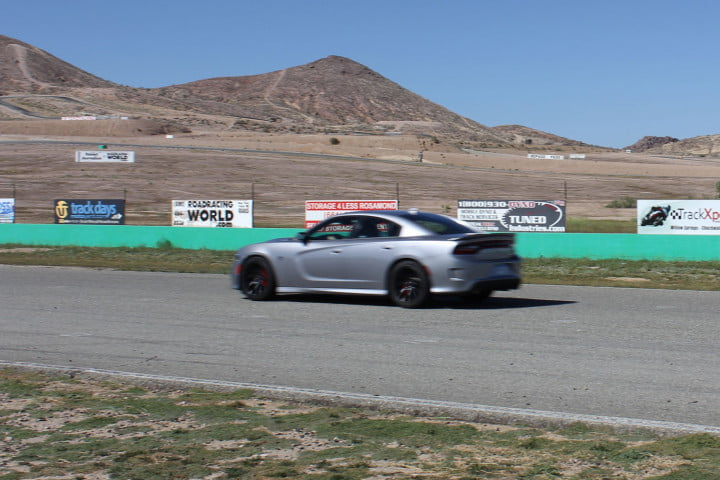 dodge charger challenger srt hellcats track review and hellcat on side