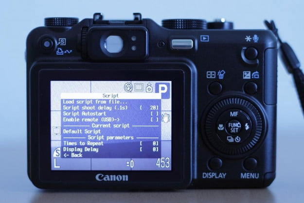 A Canon PowerShot G7 hacked with CHDC. (Image via MIKI Yoshihito/Flickr)