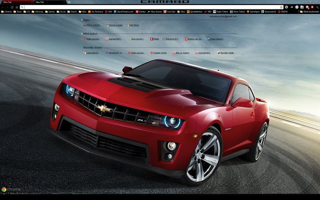 Chevrolet Camaro Theme