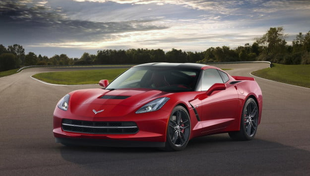 Chevrolet Corvette Stingray on track