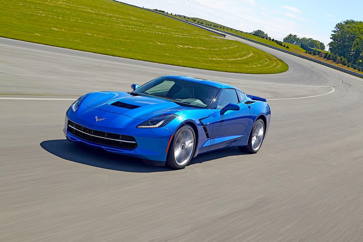 z  version of new corvette stingray may pack horsepower k price tag chevrolet on track blue