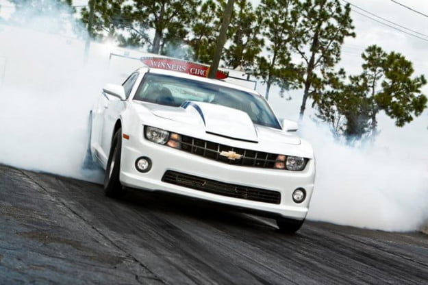 COPO Camaro burnout