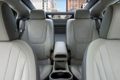 chevrolet volt review chevy interior back from front
