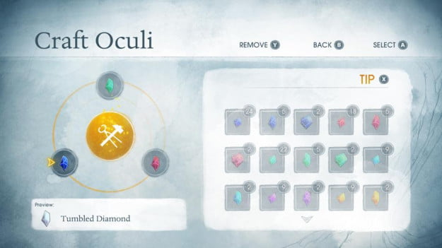 Child of Light Oculi