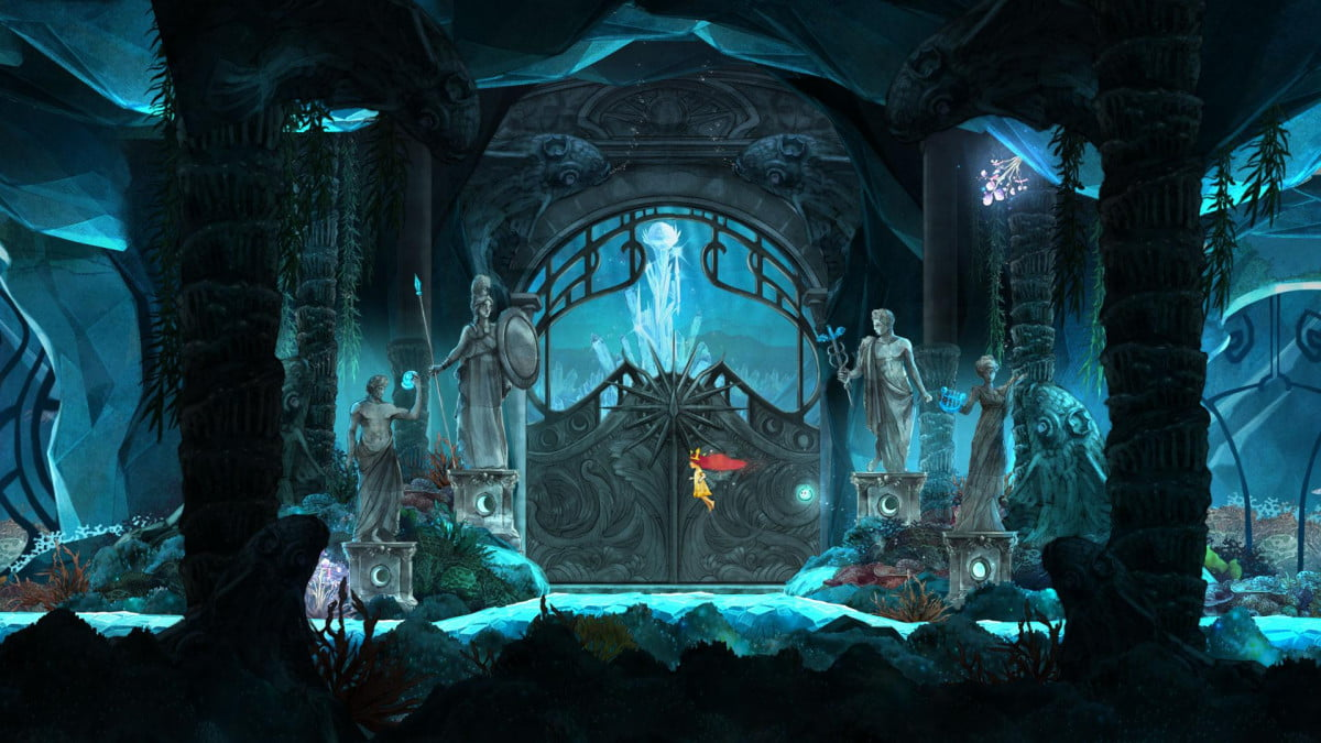 child of light getting started guide screenshot