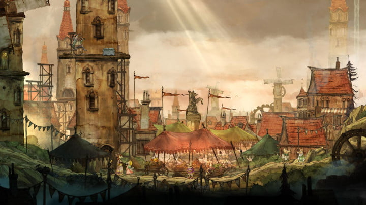 child of light review screenshot
