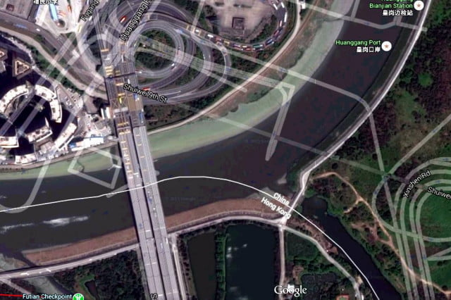 enthusiast blog unearths chinas bizarre street offset system china google maps