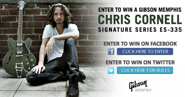chris cornell and gibson giveaway
