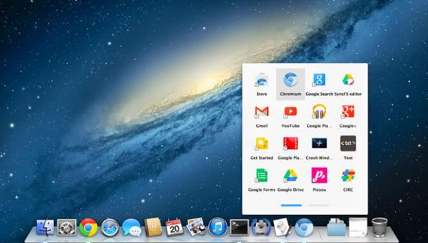 Chrome apps launcher for OSX