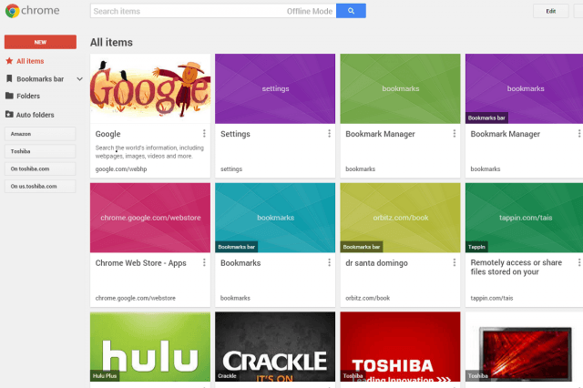 new chrome extension google makes browsing bookmarks breeze