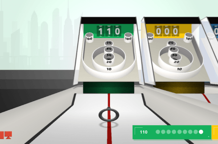 Chrome Experiment Roll It game
