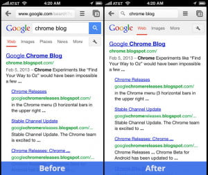 chrome for ios