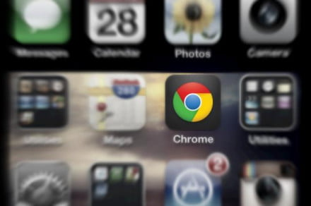 chrome browser iphone