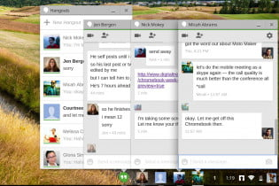 Chrome OS hell week screenshot google hangouts