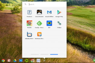 Chrome OS hell week screenshot instant messaging apps