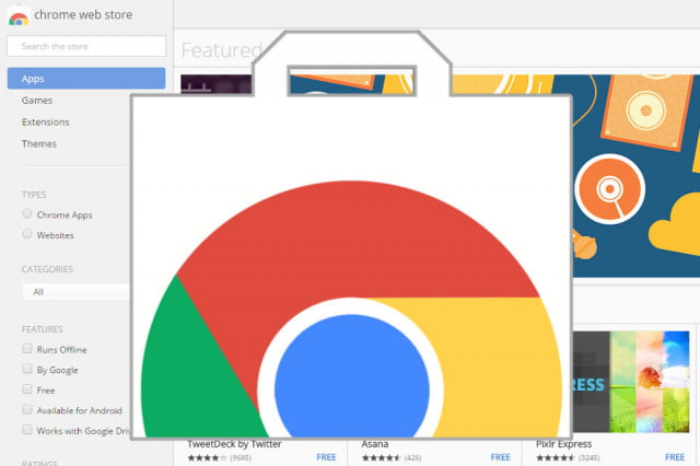 how to add apps to chrome web store