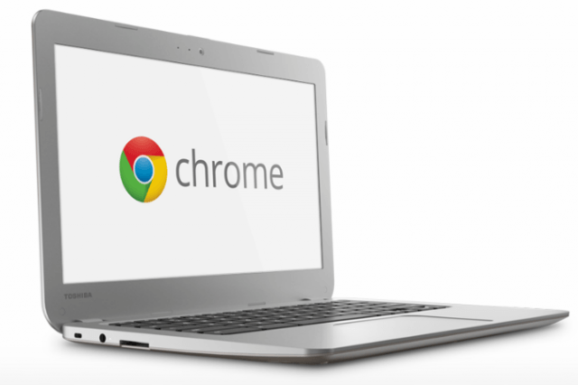 toshiba releases  inch intel powered chromebook