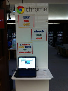 chromebooks library  via wired