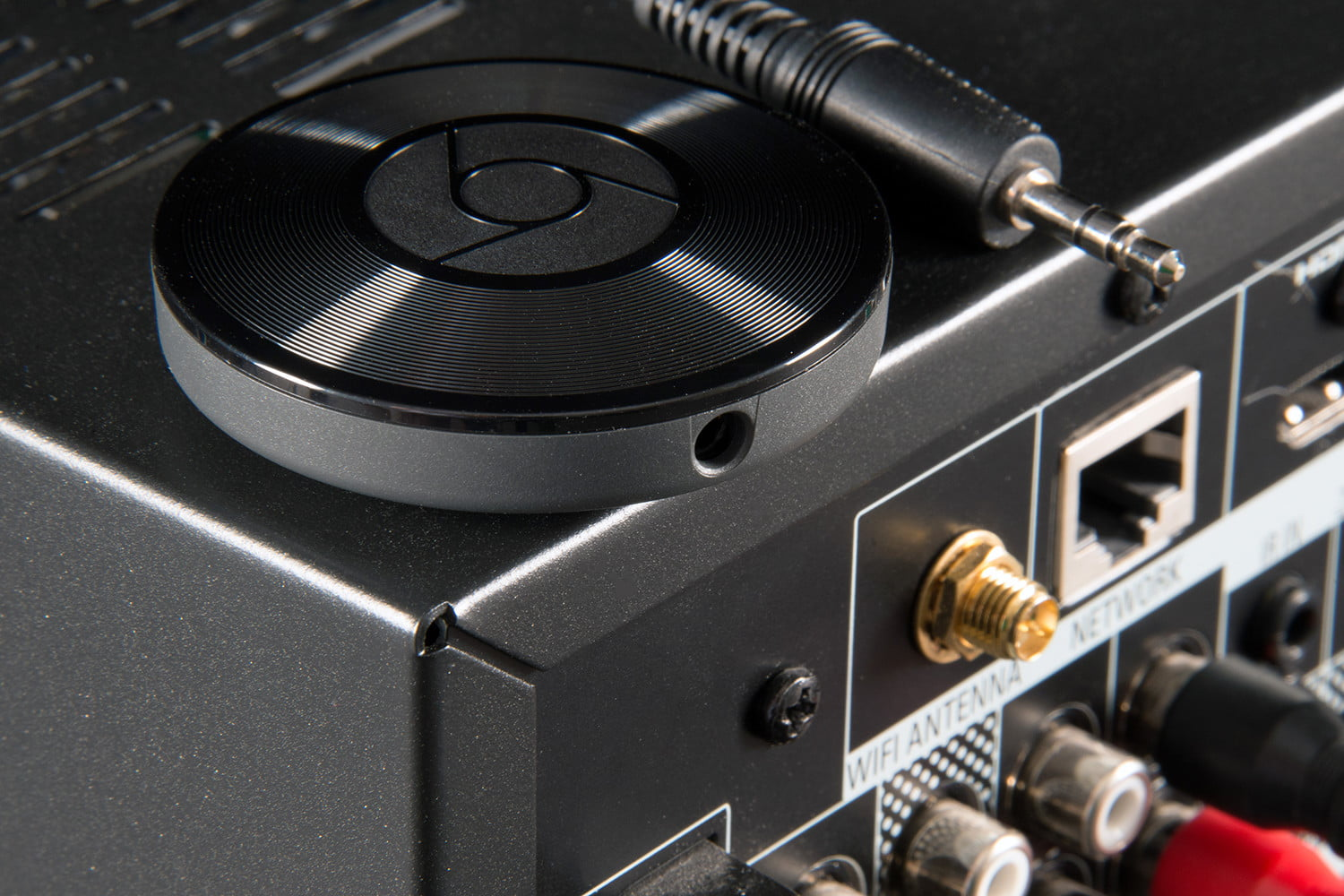 how to connect laptop to chromecast audio