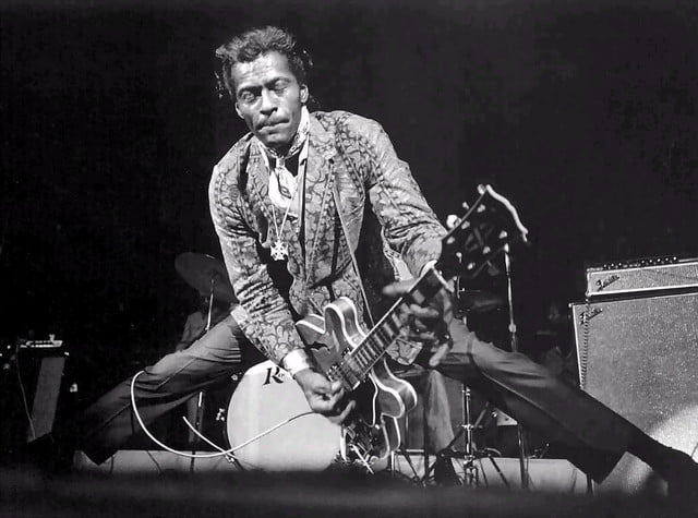 bands influenced by chuck berry