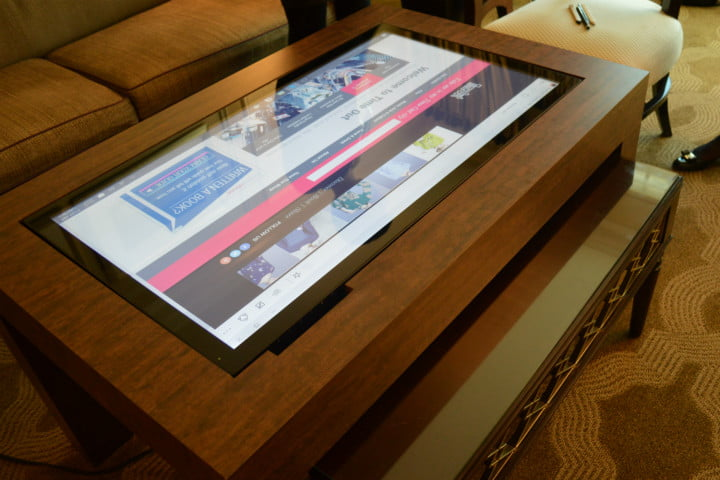 Cima Wants to Put 40-Inch Touchscreens in Coffee Tables | Digital ...
