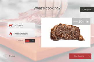 Cinder App-Ready-to-Cook