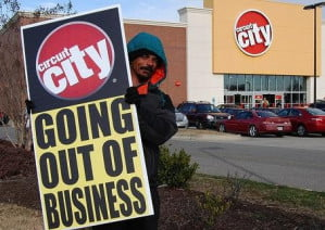Circuit City going out of business (source unknown)